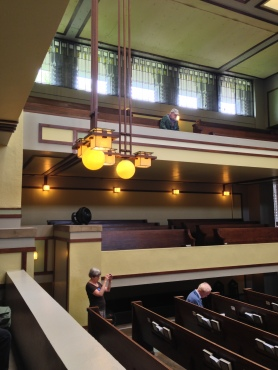 FLW's 1906 Unity Temple - a visual feast
