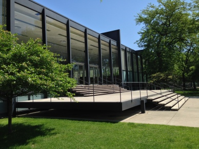 Crown Hall, IIT - Mies' 1956 masterpiece is even better in the metal.