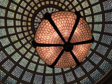 The Tiffany dome, Chicago Cultural Center