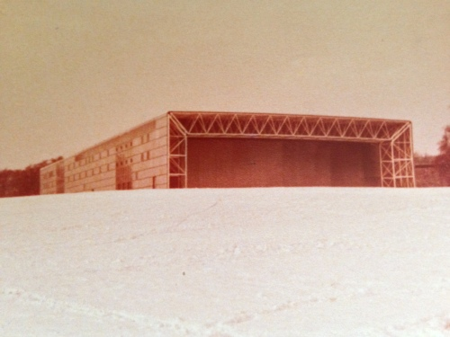 the Sainsbury Centre for Visual Arts, winter 1978