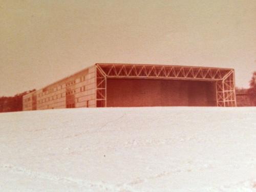 the Sainsbury Centre for Visual Arts, winter 1978