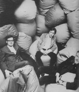 The team behind the Sacco bean bag.