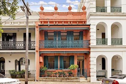 Sydney terraced houses