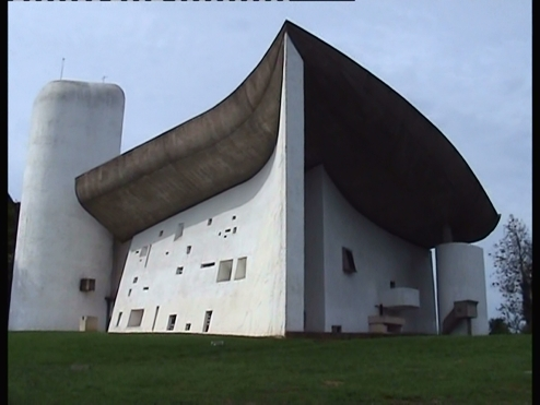 Le Corbusier's gorgeous chapel at Ronchamp
