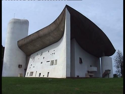 Le Corbusier's gorgeous chapel at Ronchamp