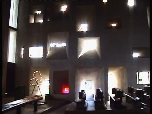 Ronchamp's interior