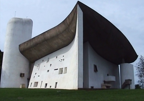Le Corbusier's glorious chapel at Ronchamp