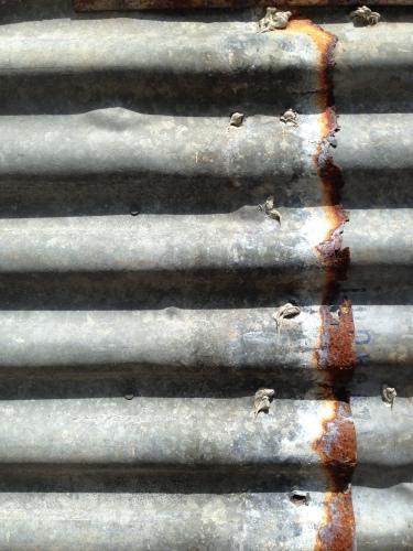 Aussie icon: corrugated iron.