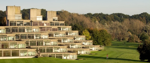 UEA's concrete ziggurats (photo courtesy John Innes Institute)