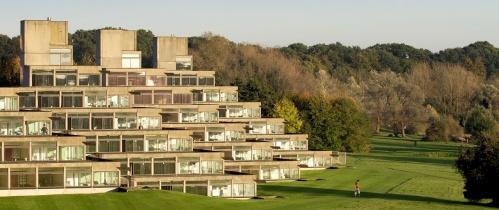 UEA's concrete ziggurats (photo courtesy John Innes Institute)