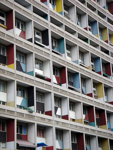 Unite d'habitation, Berlin Photo:Ikkoskinen on Flickr