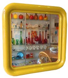 Crayonne mirror from Habitat 1970s