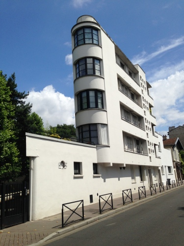 Pingusson apartment building, Boulogne-Billancourt