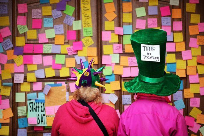 Post-It notes (Image abc.net.au radio national)