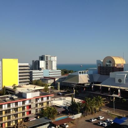 downtown Darwin