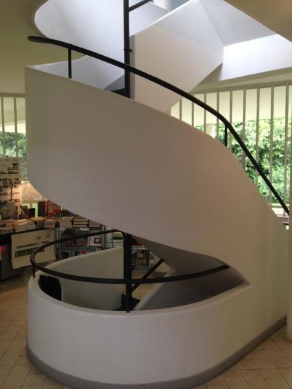 entrance hall spiral