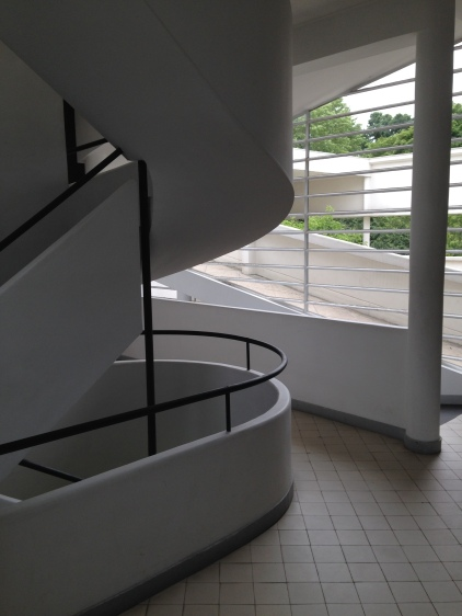 upper floor spiral