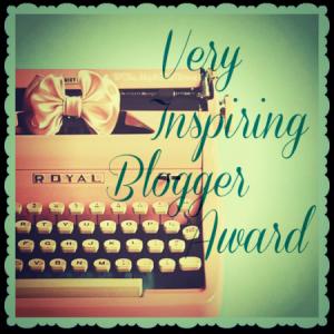 Very Inspiring BloggerAward