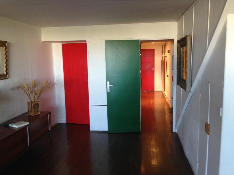 colourful apartment interior