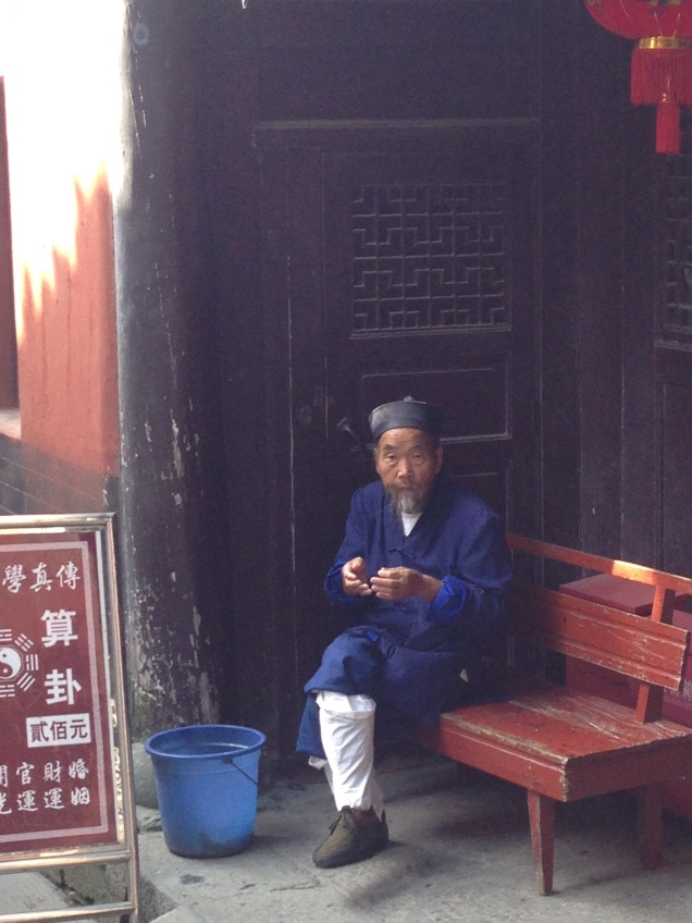 a Taoist follower