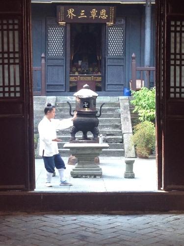 a Taoist student