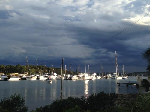 Calm in Gunnamatta Bay