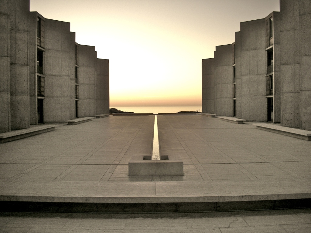 Salk Institute, La Jolla (photo: Alfred Essa/ Flickr)
