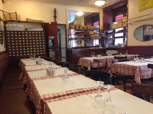 the Petit Saint Benoit restaurant