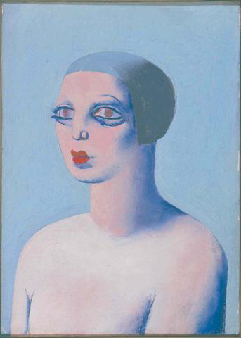 Portrait of Yvonne by her husband (collection Fondation Le Corbusier)