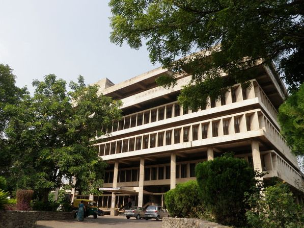 Panjab University, by Pierre Jeanneret (wikimedia commons)