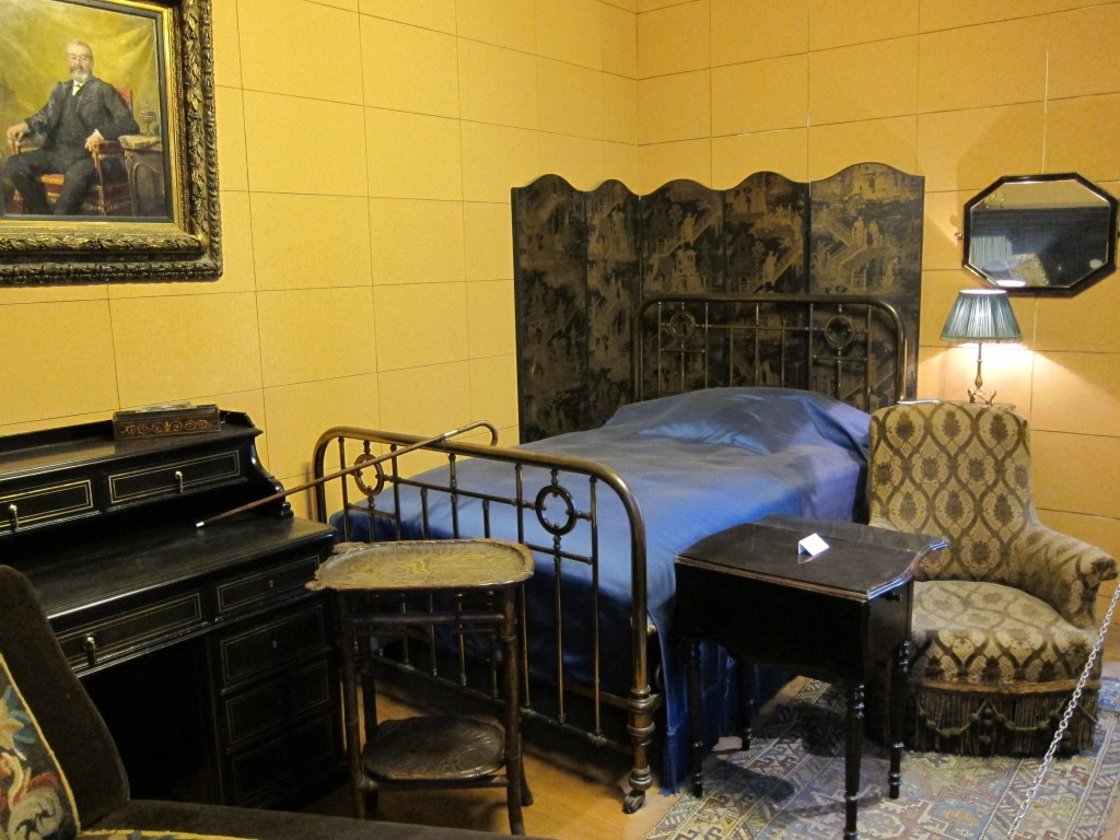 Proust's cork-lined bedroom reconstructed at the Musee Carnavalet in Paris (thanks to Stephen Rees/ Flickr)