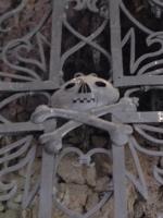 tomb gates on Lake Orta