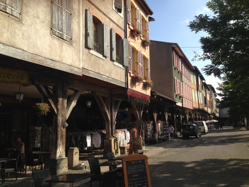 Mirepoix's remarkable square