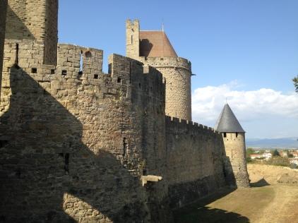 Carcassonne's citadel walls