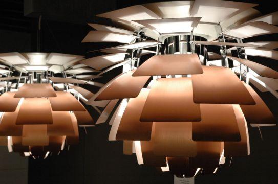 Artichoke lamp (Flickr Sekundo)