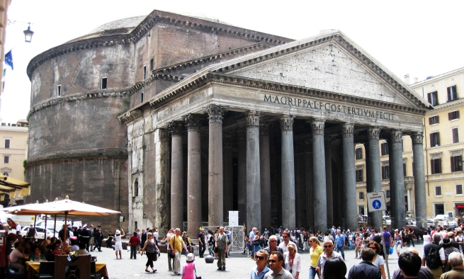 Pantheon (Flickr : Alex Rinaldi)