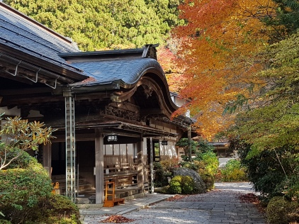 Koyasan - temples and autumn colour