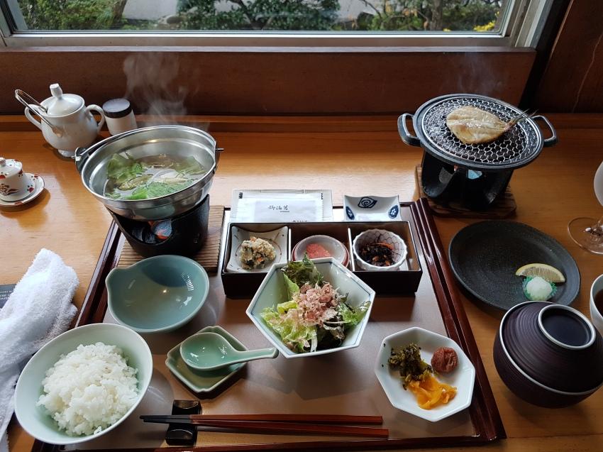 breakfast in Kotohira