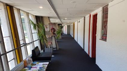 a lively corridor