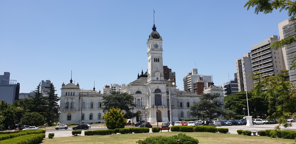 La Plata city hall