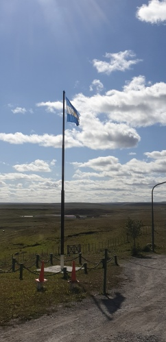 Argentina border post